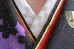 振袖 重ね衿 刺繍半衿