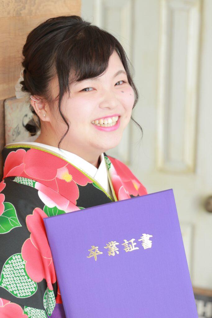 卒業式 女の子