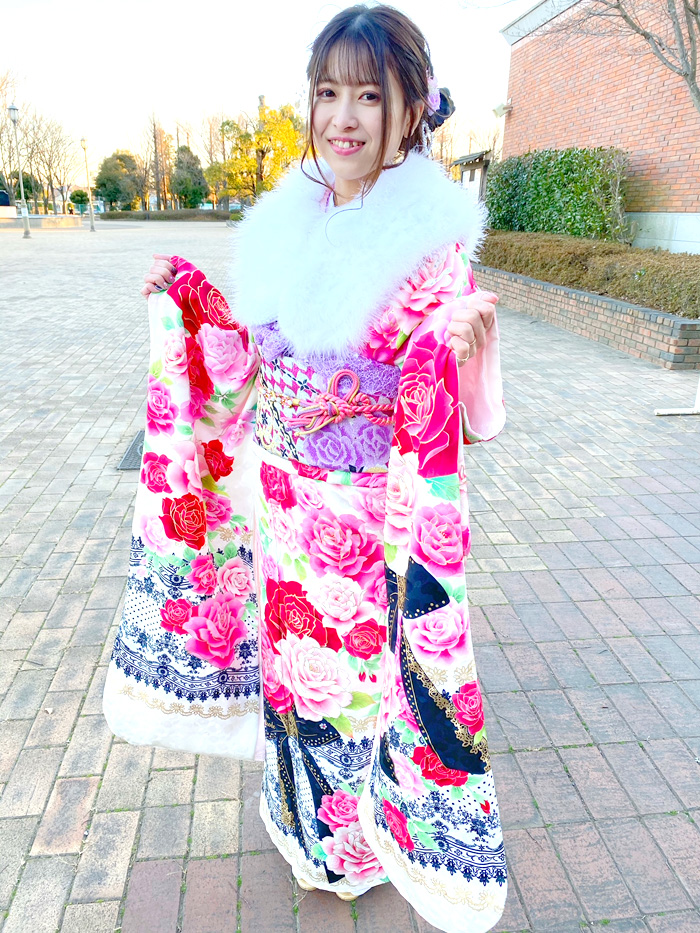 埼玉県深谷市・2021年成人式 お客様投稿 振袖写真