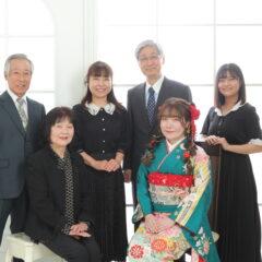 成人式前撮り ご家族写真のすすめ 鴻巣店