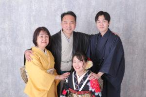 家族集合撮影