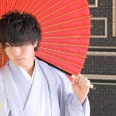 男性袴のプランについて。是非袴姿で成人式に参加してみて下さい。鴻巣店