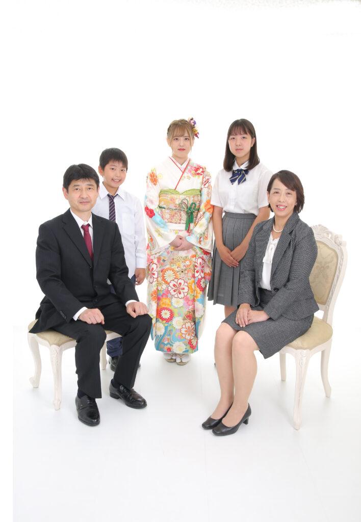 ファーストコレクションの前撮り・家族写真