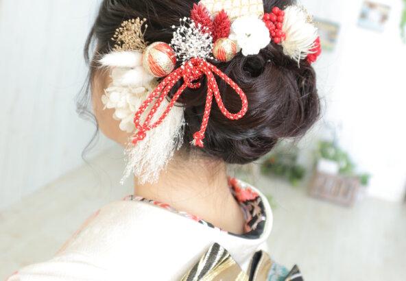 振袖に合わせる髪飾りやネイルはみんなどう合わせてる?@熊谷・八木橋店