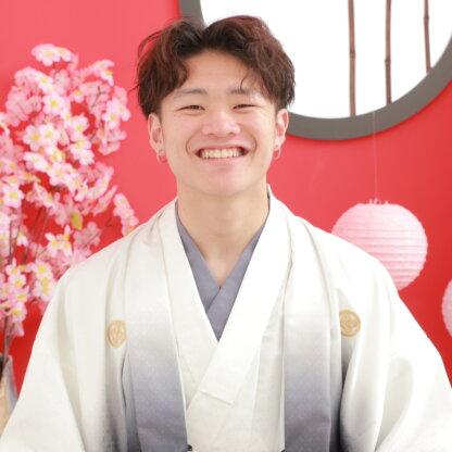 成人式で着物を着たい!男性袴プランももちろんございます!@熊谷・八木橋店
